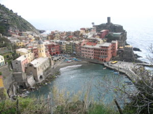 The Fourth Town of Vernazza in Cinque Terre