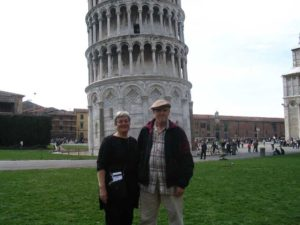 IMG_Ken & Harriet below Leaning Tower